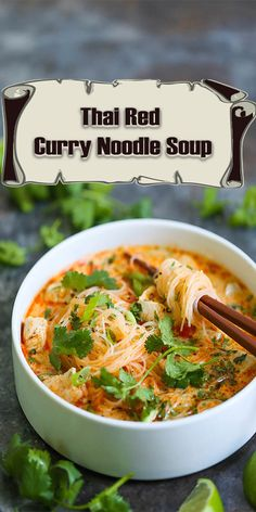 ThaiRed Curry Noodle Soup