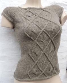 Tuto tricot Top Losange Mélinda PDF... et plein d'autres patrons ! (à acheter)