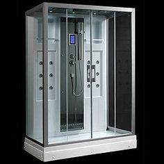 taps4less hydra u003e rectangular steam shower enclosure with mirror panel 1450x900mm taps4less