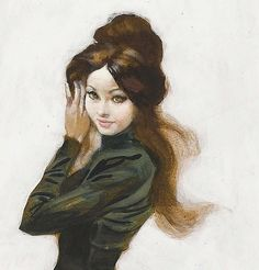 Art by FRANK FRAZETTA  is that Jennifer Lawrence?-Rai ismydad
