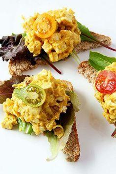 The Tofu Egg Salad Sammy | Made Just Right by Earth Balance #vegan #earthbalance #recipe