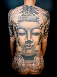 Lovely Shading Bhudda #Tattoo