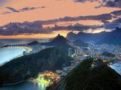Morro da Urca/Copacabana - Rio de Janeiro (Brasil)