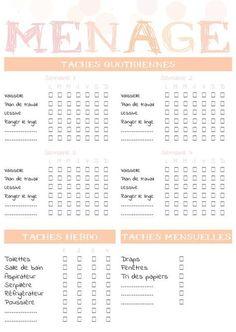 Et si vous avez un Bullet Journal, ça peut aussi vous donner des idées ! And if you have a Bullet Journal, it can also give you ideas! And if you have a Bullet Journal, it can also give you ideas! Organization Bullet Journal, Diy Organisation, Planner Organization, Organizing, Filofax, Weekly Log, Check Up, Flylady, Bullet Journal Inspiration