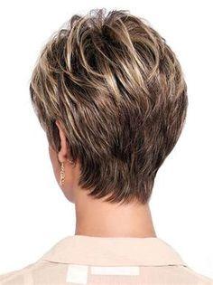 60 Trendy haircut low maintenance fine hair - Angela Home Short Grey Hair, Short Hair With Layers, Short Hair Cuts For Women, Short Hairstyles For Women, Short Hair Styles, Short Cuts, Trendy Haircuts, Cool Haircuts, Pixie Haircuts