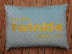 Hey, I found this really awesome Etsy listing at https://www.etsy.com/listing/255241302/minky-pillow-cover-12x16-twinkle-twinkle