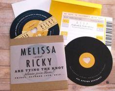 Vinyl invites