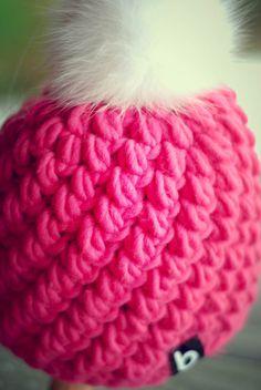 crochet beanie, 100% merino wool www.beanie.at #crochet #beanie #pattern