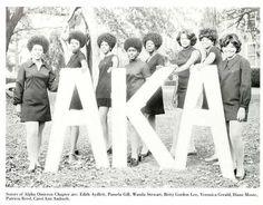 Alpha Kappa Alpha Sorority Inc, 70's