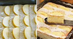Lenivá hrnčeková bábovka na plechu pre tých, ktorí nemajú čas | NajRecept.sk Camembert Cheese, French Toast, Cheesecake, Sweets, Baking, Breakfast, Desserts, Dreams, Basket