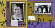 Galleria - Galleria Wing Selection: Special Release Kits - Exhibit: Murf and Her Model T 1930 - 2 page LO