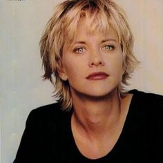 I wouldn 39 t mind if my hair looked like this if I looked like her At my age people would worry if I should be left in a room with a toaster II wou… – Quotation Mark Meg Ryan Hairstyles, Short Shag Hairstyles, Short Thin Hair, Short Hair Cuts, Short Hair Styles, Hair Dos, Your Hair, Meg Ryan Photos, Hair Beauty