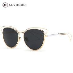 $8.19 (Buy here: https://alitems.com/g/1e8d114494ebda23ff8b16525dc3e8/?i=5&ulp=https%3A%2F%2Fwww.aliexpress.com%2Fitem%2FAEVOGUE-Women-s-Sunglasses-Newest-Alloy-Frame-Brand-Design-Cat-Eye-Summer-Style-Sun-Glasses-Oculos%2F32501388378.html ) AEVOGUE Women's Sunglasses Newest Alloy Frame Brand Design Cat Eye Summer Style Sun Glasses Oculos De Sol Feminino UV400 AE0319 for just $8.19