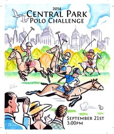 Central Park Polo Challenge Poster