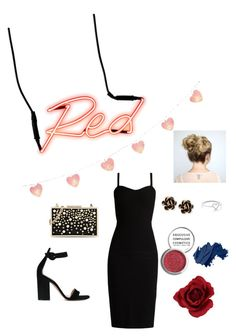 """""""Untitled #72"""" by emmycheetos ❤ liked on Polyvore featuring MaxMara, Gianvito Rossi, Seletti, Karl Lagerfeld, Chantecler, Aurélie Bidermann, Obsessive Compulsive Cosmetics and Bobbi Brown Cosmetics"""