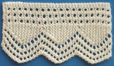 1884 Knitted Lace Sample Book: February 2009 - More Lace Edging