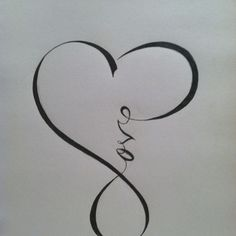 Tattoos / love infinity.... one day i will get this