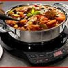 High Performance Portable Induction Cooking Cool To The