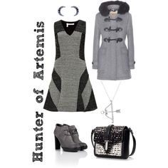 """Hunter of Artemis"" by xylophobian on Polyvore"