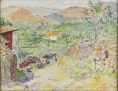 Sigurd Swane - Det grønne land under bjergene, Portugal