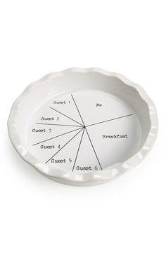 Signature Housewares 'Pie Slices' Pie Pan   Nordstrom