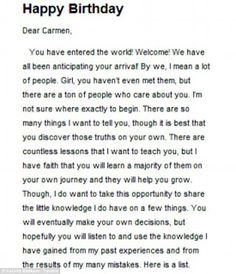 Romantic Birthday Letter For Girlfriend Letters Paragraph