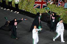 Saudi Arabia's first female Olympic athletes