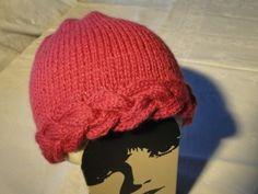 Bonnet avec torsade du blog Activités créatives et tricot