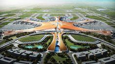 あまり中国っぽくないイメージ? 新国際空港(首都第二空港)として、北京市郊外に2017年開港予定の...