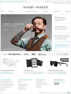 Warby Parker on Magento
