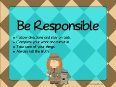 Classroom Rules Posters Based on the 3 R's - Detective Theme The 3 Rs, Detective Theme, Classroom Rules Poster, Mission Possible, Tell The Truth, You Working, I Hope You, Take Care Of Yourself, School Stuff