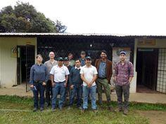 Zusammen mit den Nordamerikanern bei ACRIM im Süden Ecuadors.  mehr Informationen auf der Five Roasters-Homepage www.fiveroasters.de/blog/ecuador-august-2014