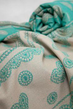 5018a7aa76c Shopping Bag - Pistachio Lace Lace Wrap