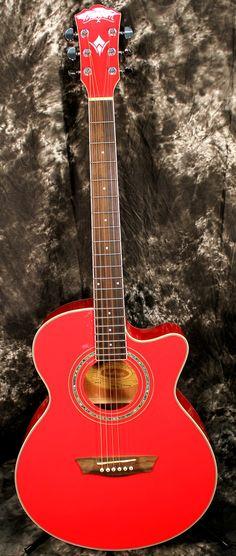 2014 Washburn Festival EA12 Acoustic Cutaway Electric Mini Jumbo Guitar With 4-Band EQ