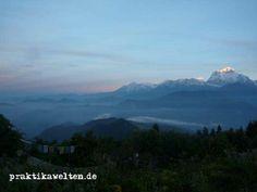 Das höchste Gebirge der Welt. Neben der spannenden Kultur Nepals kann man die weißen Gipfel des Gebirges auch während unseres Sozialarbeitprojekts bewundern.