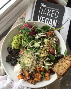 Whole Food Recipes, Diet Recipes, Vegan Recipes, Vegan Meals, Vegan Food, Think Food, Love Food, Healthy Snacks, Healthy Eating