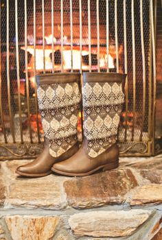 Christmas in Dixie Boots-Brown