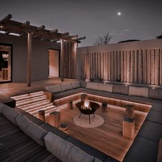 Outdoor Garden Lighting, Outdoor Decor, Dream Home Design, House Design, Golden Lake, Backyard Seating, Aesthetic Iphone Wallpaper, House Rooms, Future House