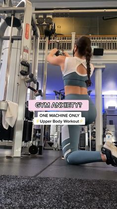 Cable-Only one machine upper body workout!