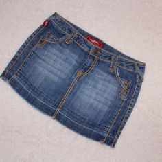 Denim  skirt In great condition.  And sexy too. Tyte Skirts Mini