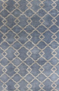 Chic hand tufted rugs for sale, at Hadinger Area Rug Gallery! (Nationwide shipping available.) A18Z R129-HG265 Denim