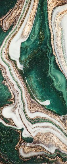 Uitsnede afbeelding   Iphone wallpaper green, Painting wallpaper, Marble wallpaper phone