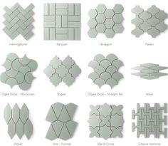 fireclay-tile (Alternatives to White Subway Tile) Hexagon Backsplash, White Kitchen Backsplash, Mosaic Tiles, Wall Tiles, Boho Dekor, Plafond Design, Fireclay Tile, White Subway Tiles, Shower Remodel