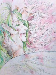 Doflamingo x Monet One Piece Angst