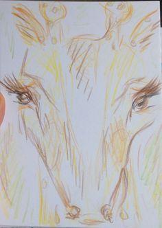 #giraffe #bySötArt Giraffe, Art Photography, Painting, Felt Giraffe, Fine Art Photography, Painting Art, Giraffes, Paintings, Painted Canvas