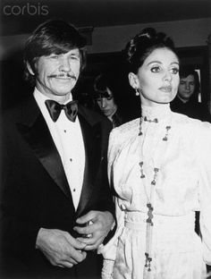 Charles Bronson and Jill Ireland were married for 22 years (until her death in 1990)