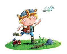 Plum Pudding Illustration Agency - Search - Damien & Lisa Barlow Ian Smith, Viking Baby, Plastic Dinosaurs, West Midlands, Funny Stories, Little Sisters, I Am Happy, Vikings, Illustrators