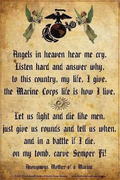 MARINE CORPS. Do or Die