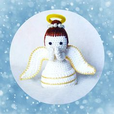 Amigurumi Angel - Crochet Angel pdf pattern