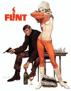In Like Flint and Our Man Flint are 2 great Bond spoofs starring James Coburn.  I remember cracking up with my dad the first time he introduced me to these comic gems.  You should share them with that James Bond fan in your life.